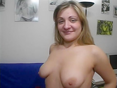 Shy Kristina's First Time On Camera - Julia Reaves