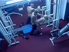 Voyeur angle of sex in the gym - Latin-Hot