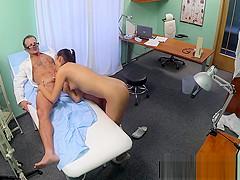 Medical spycam fetish with euro doc and nurse