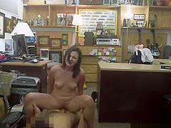 Upset Customer Sucks & Fucks Shop Manager For Sexual Healing