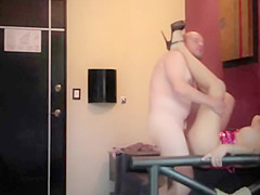 hotwife latin milf caught on hidden cam