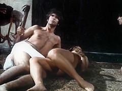 Voyeurs seein a sexual scene