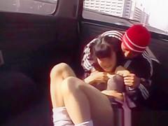 Innocent Japanese Teen Is Groped By A Stranger
