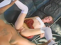 Skinny, Dirty, Vixen Tracie Trixxx Craves The Black Dick