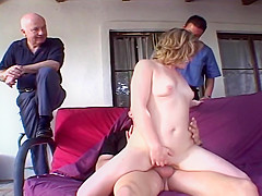 Milf Works Hard To Lend A Hand Or Mouth To Everyone