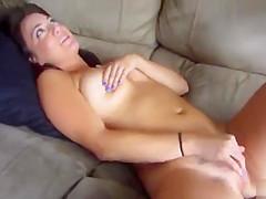 Tasty Bella Rose Masturbates In The Subway In A Upskirt Video