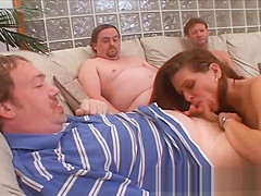 Wifey Jaiden gets covered in cum and sent home to her hubby.