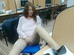 Library girl 642