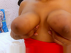 Big Nipples Areolas Tits Sucked & Shaking My Ebony Ass Pussy