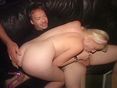 Pretty Blonde Tiny Tits Cum Spurting Theater Gangbang