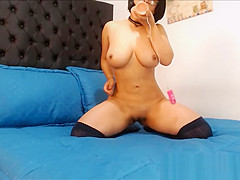 Asian Teacher with Huge Tits and Glasses