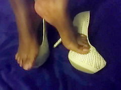 hot ebony toes and plats