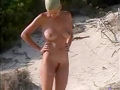 Voyeur hits a nudist beach again