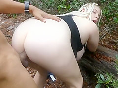 Anal in Woods