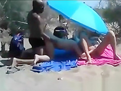 White Slut Fucked By Black Dude In Front Of Strangers.