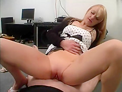 Petite blondie Will have fun on that dick