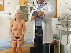 Voyeur gyn doctor secretly records big tit female