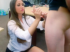 Big ass amateur babe fucked by pawn guy