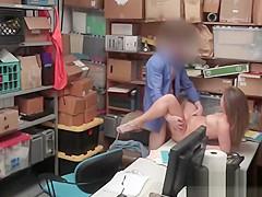 Shoplift Brooke Bliss Office Missionary Big Cock