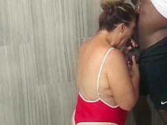Cheating Wife Fucks Black Boys On Vacation