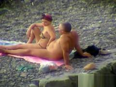 Groping On The Beach