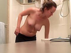 TEEN MOM AMY REAL SPY SHOWER 2