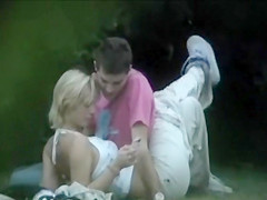 Compilation of horny girls getting naughty in outdoors