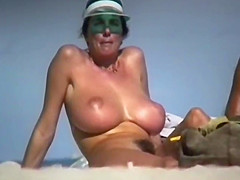 woman with hairy pussy beach hd