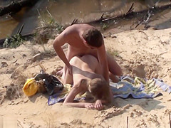 Swinger Outdoor Beach Gang Bang Public Sex Part Ii