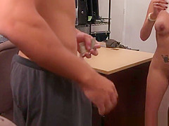 Bigtitted pawnee willing to dicksuck for cash