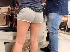 Teen Voyeur - Incredible Latina Teen Ass