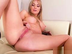 Alone Sexy Hot Girl (angela sommers) Masturbates On Tape vid-03