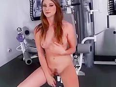 (shae snow) Horny Alone Girl Like To Masturbate With Dildos clip-12
