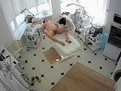 Hidden cameras. Beauty salon, waxing pussy and ass mom