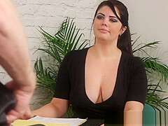Fetish babe degrading nude loser