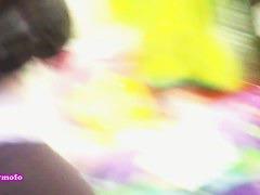 A bombastic piece of ass filmed by a street cendid cam