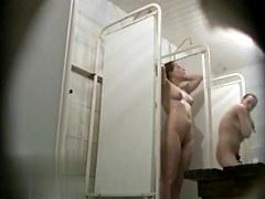 Hidden cameras in public pool showers 112