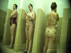 Hidden cameras in public pool showers 336