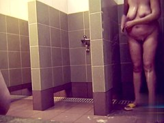 Hidden cameras in public pool showers 553