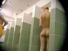 Hidden cameras in public pool showers 783
