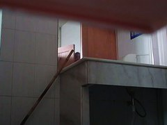 Voyeur videos form the public toilette with attractive girls farting crap out of their butts