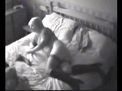 My slut mum caught by hidden cam in her bedroom