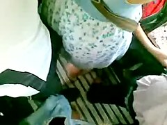 Hot chick in a bus, filmed by guy with voyeur cam