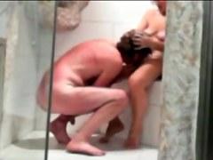 Hubby Is Boning Wife In A Toilet In Voyeur Sex Vid