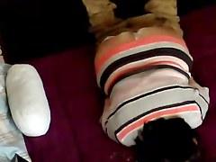 BBW is jilling off in cam voyeur video clip