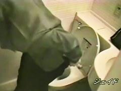 Clueless asian caught masturbating on hidden cam