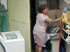 Spying Neighbour - Mature Ass voyeur (part 2)